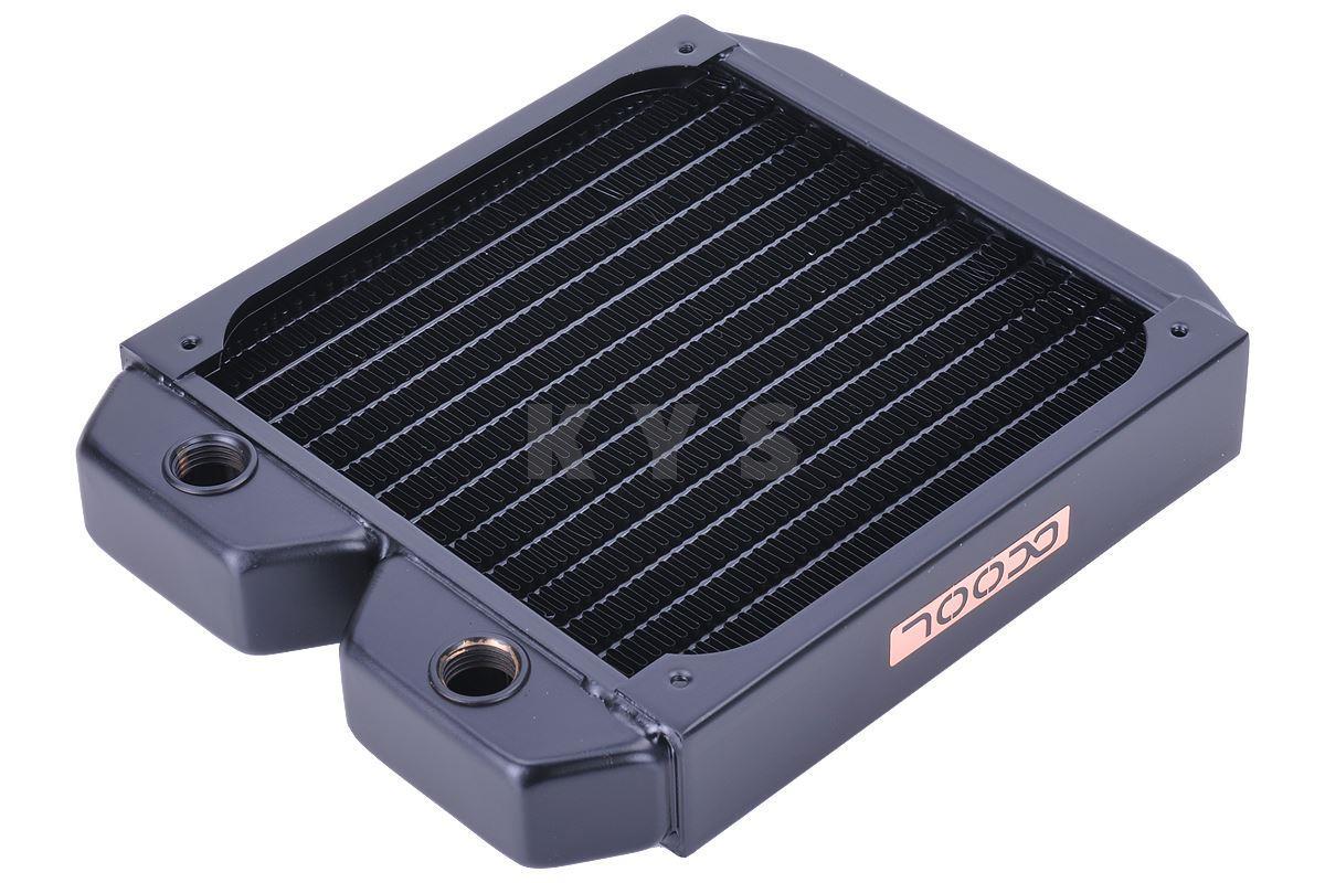 Alphacool NexXxoS ST30 120mm Full Copper Radiator Water Cooling 5pcs lot pure copper broken groove memory mos radiator fin raspberry pi chip notebook radiator 14 14 4 0mm copper heatsink