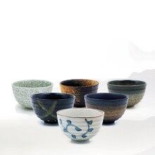 300ml Japan Coarse Pottery Matcha Bowl Green Tea Maker Cup Glaze Teacup Kung Fu Tea Set Master Cup Creative Vintage Home Decor
