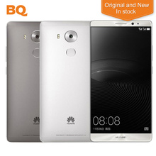 """New Original Huawei Mate 8 LTE Mobile Cell Phone Kirin 950 Android 6.0 6.0"""" FHD 1920X1080 4GB RAM 64GB ROM 16.0MP Smartphone"""