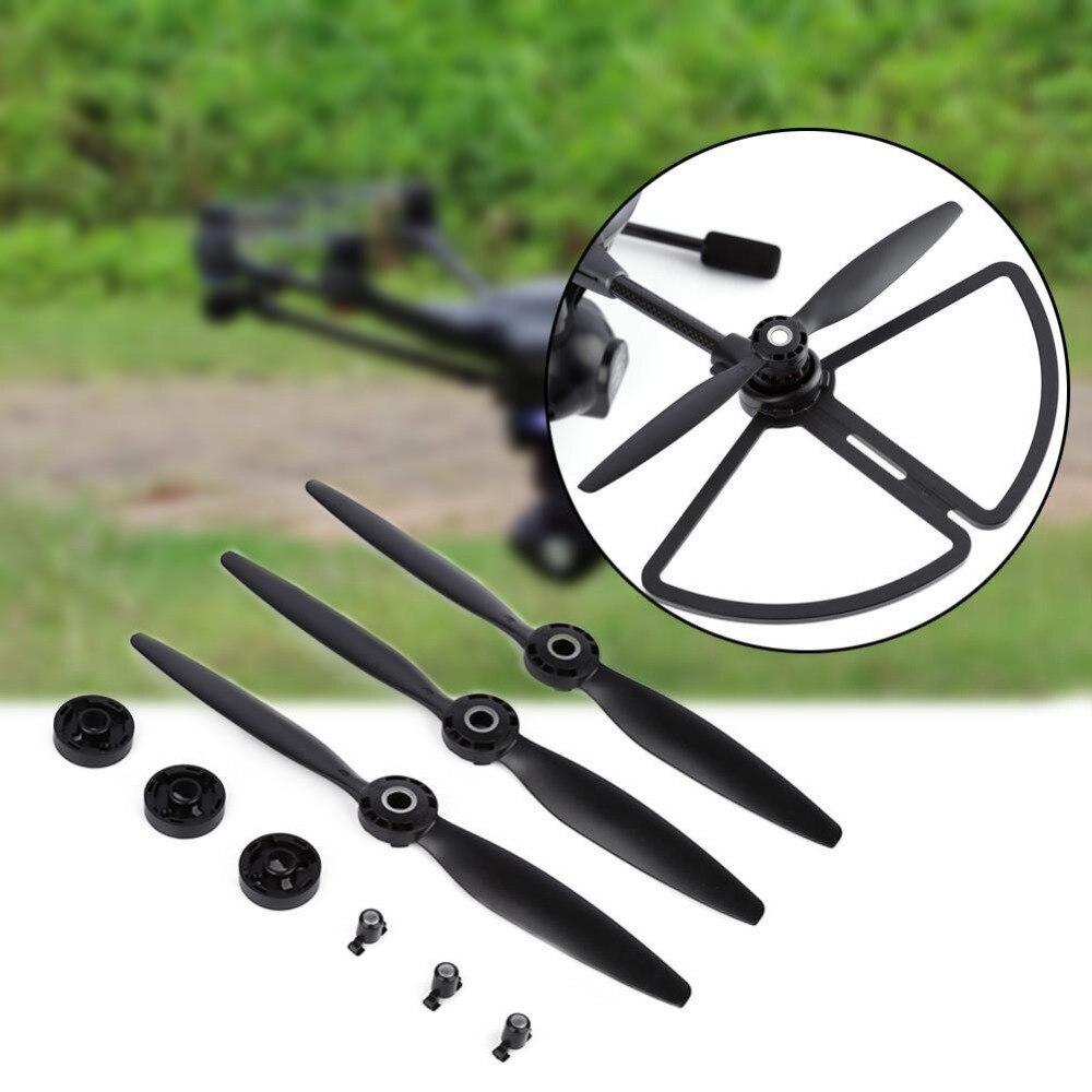 For Typhoon H 480 Drone B Self-locking Propellers Blades 3 Pcs Black