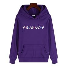 LUCKYFRIDAYF 2019 unisex friend member fashion warm soft ladies hoodie sweatshirt hip hop clothing