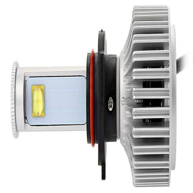 Auto Front Fog Light All-in-one Conversion Kit Cold White Led 9006 6000K X7 LED Headlight Bulbs Car Headlight Heat Sink Design