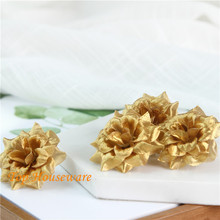 200pcs Artificial Rose Flower Heads Silk Simulation Home Decor For Scrapbooking Handicraft  Wedding DecorationYYF36