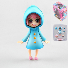 Newest Anime 11cm One Piece Lovely Rebecca Childhood ver. PVC Action Figure Collection Model Toy Doll Christmas Gift