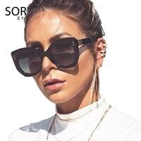 SORVINO, новинка 2020, Ретро стиль, квадратные солнцезащитные очки для женщин, 90 s, фестивальные очки, большие дизайнерские розовые солнцезащитные...