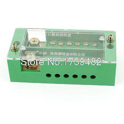 660V 30A Single-Phase Household Power Distribution Terminal Block for 6 Meters image