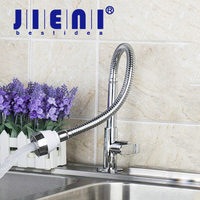 JIENI E Pak Free Shipping All Around Rotate Basin Faucet Swivel Kitchen Faucets Plumbing Hose Tap