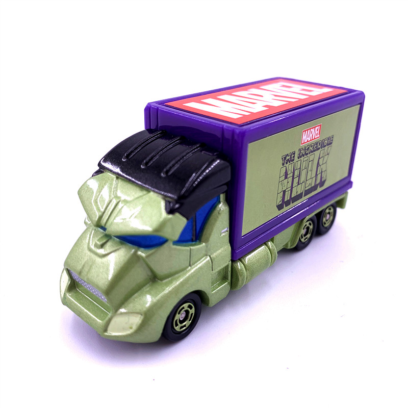 Takara Tomy Tomica Dreamstar Metal Diecast Marvel Superhero Hulk Car Funko Pop Toy Car Model Christmas Gift Avengers