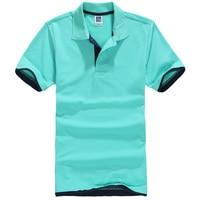 New Men Polo Summer Pattern Men Freds Short Sleeve Cotton Polos Shirts F061