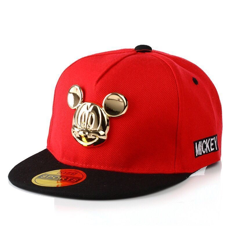 2017 Autumn Winter Gorras Baseball Cap Children's Baby Hip-hop Hat Caps Boys And Girls Snapback Cartoon Mickey Pattern Caps 2016 new kids minions baseball cap fashion adjustable children snapback caps gorras boys girls gorras planas hip hop hat 2202