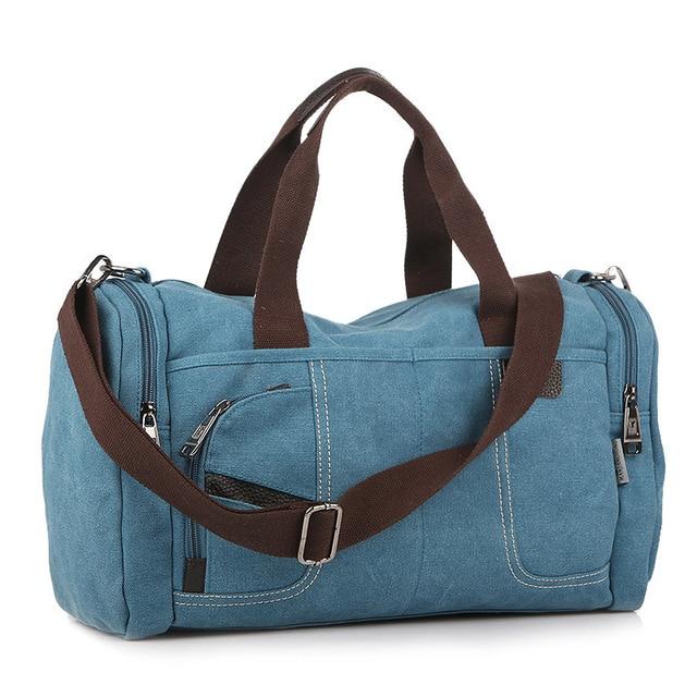 Large capacity man travel bag  man bag US retro travelling handbag oxford tiebarless bags blue red black color