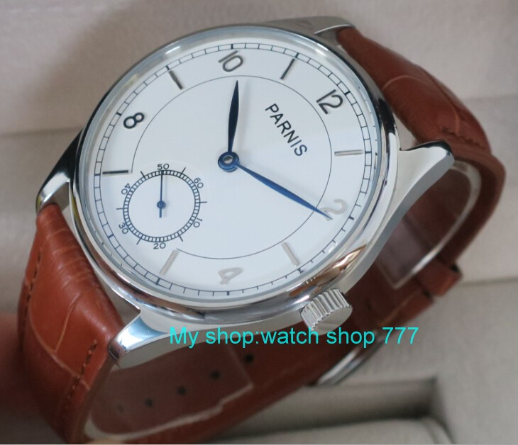 44 mm PARNIS White dial Asian 6498/3621 Mechanical Hand Wind men watches Mechanical watches wholesale rnm07A 44 mm parnis white dial asian 6498 3621 mechanical hand wind men watches mechanical watches wholesale 389