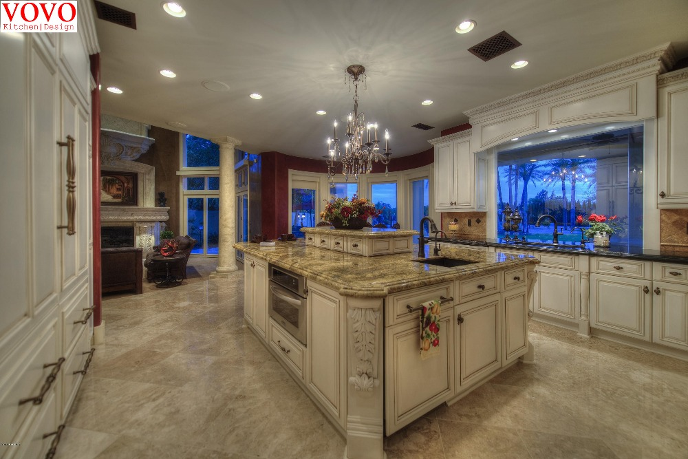 White American Kitchen Cabinets Manufacturer