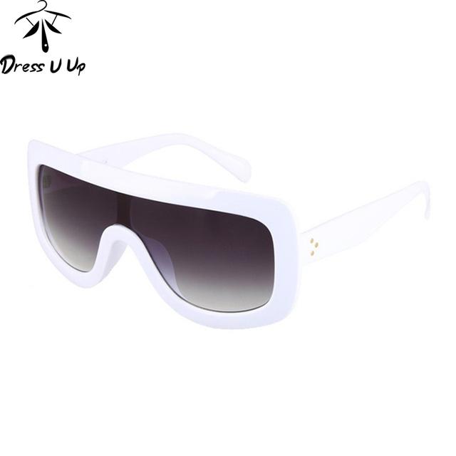 DRESSUUP 2016 New Square Sunglasses Women Brand Designer Big Frame Shades Gradient Sun Glasses Oculos De Sol Feminino Lentes