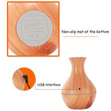 USB humidifier aromatherapy essential oil diffuser Wooden Look