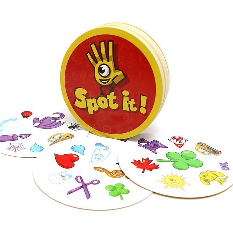 2020 Spot Board Games Enjoy It For Kids Family Party Most Classic Dobble It Cards Game