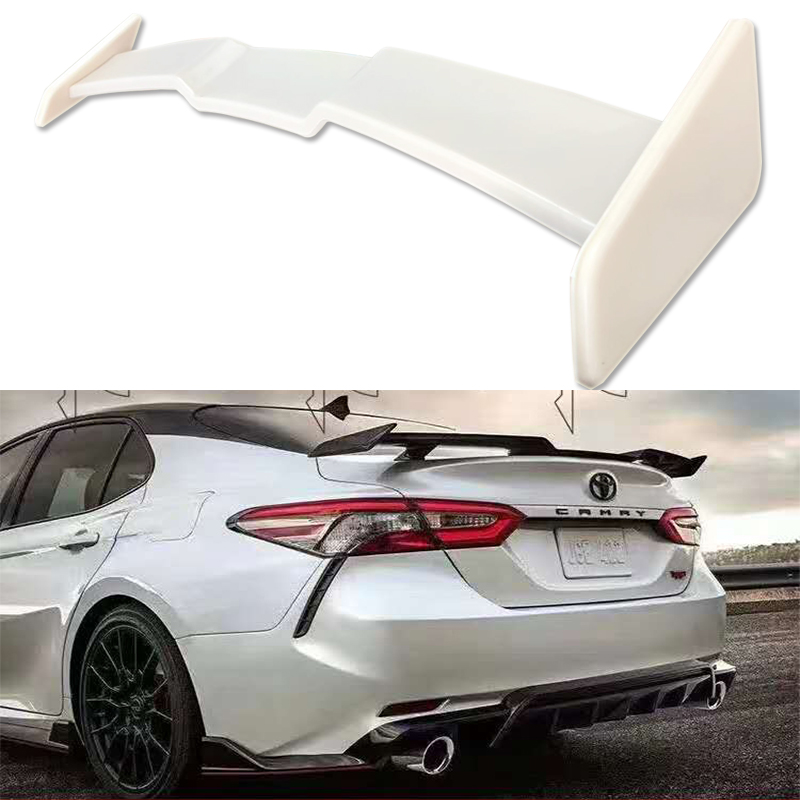 For toyota Camry 2018 2019 high quality and hardness ABS material big spoiler by color paint New design camry spoilers