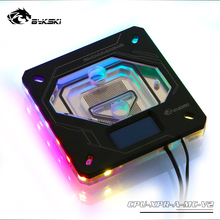 Bykski CPU Water Block 2011 115X platform I7 temperature digital display monitoring Motherboard AURA FR-CU-RA-2018-V2