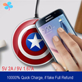 Qi Universal 100% Quick Charge Wireless Charging Kit Charger Adapter Fast charger For S6 S7 NOTE5 Android Phone THL OnePlus