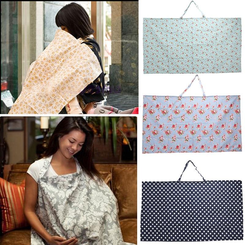 Mum Breastfeeding Nursing Cover Up Baby//Infant Poncho Shawl Udder Cotton Blanket