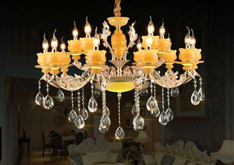 Art deco kristallen kroonluchter lichten luxe crystal kroonluchter