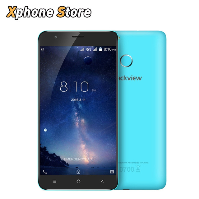 FAST SHIP Blackview E7S 5.5 inch Android 6.0 2GB RAM 16GB ROM 3G Net MTK6580 Quad Core 1280x720 IPS HD Screen Dual SIM Cellphone