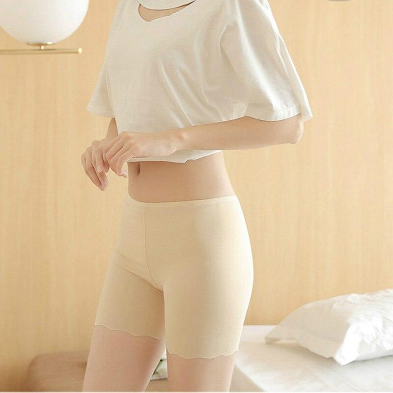 Summer Cottton Female Seamless Legging Safety Short Pants Underwear Boxer Casual Women's Pants Briefs   Panties