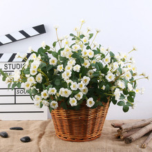2019 NEW Artificial Flowers Simulation Peony Flower Rose Bunch Wedding Home Decoration Fake Plants Plantas Artificiales Para