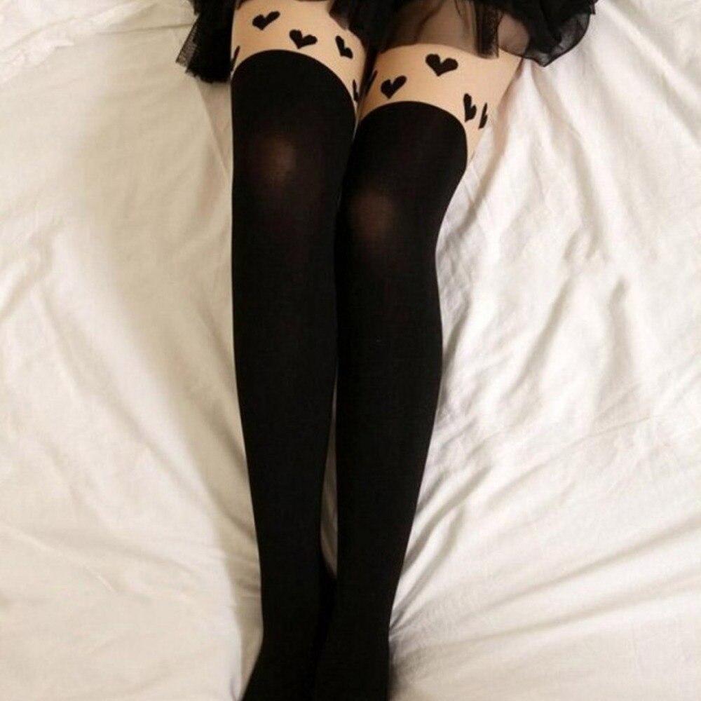 5 стиль колготки для новорождённых для женщин тонкий Винтаж печати кружево модные, пикантные Лоскутные чулок Collant Femme Medias Pantis ж купить на AliExpress