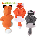 Kawaii Baby Clothing Newborn Infant Hooded Coat Fox Baby Photography Props Boy Girl Clothing Kids Clothes Birthday Gift Costume