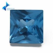 Размер 3x3 м ~ 10x10 мм квадратная форма 120 # синий камень