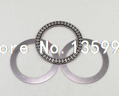 (1) 130 x 170 x 5mm AXK130170 Thrust Needle Roller Bearing Each With Two Washers axk100135 2as thrust needle roller bearing with two as100135 washers 100 135 6mm 1 pcs axk1120 889120 ntb100135 bearings