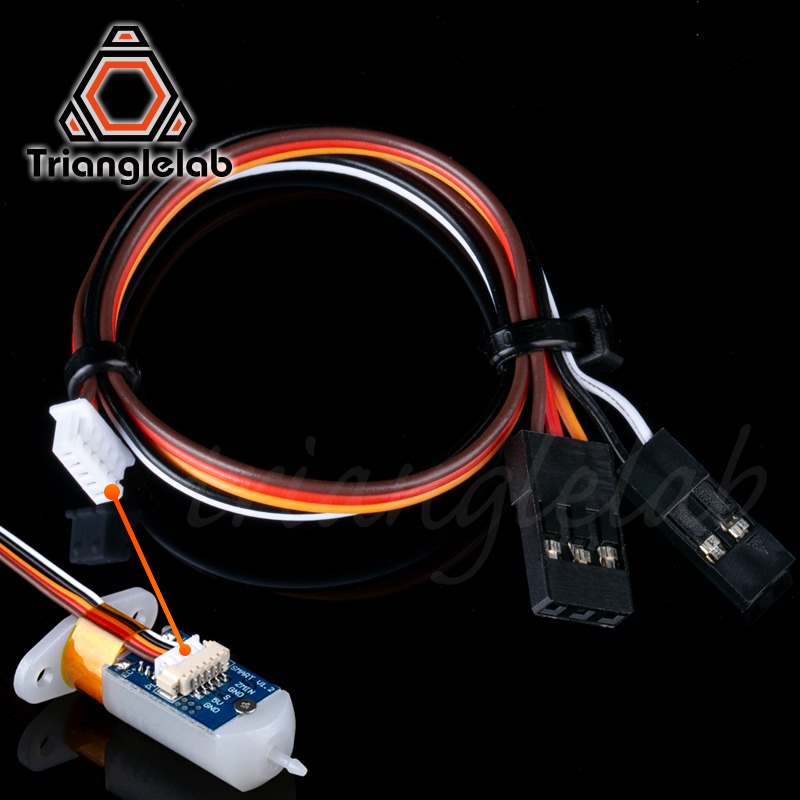 Trianglelab 3D Touch Sensor Signal Line 19CM MX1.25 To Dupont 2.54 3D Touch Wire  3D Touch Dupont Adapter Cable