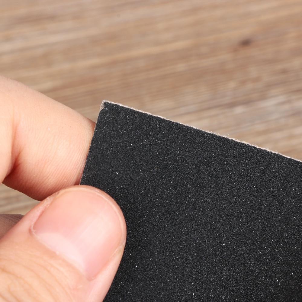 Sanding Paper Sheet  Grinding Polished Tools 120-2000 Grit Wet Dry Sandpaper