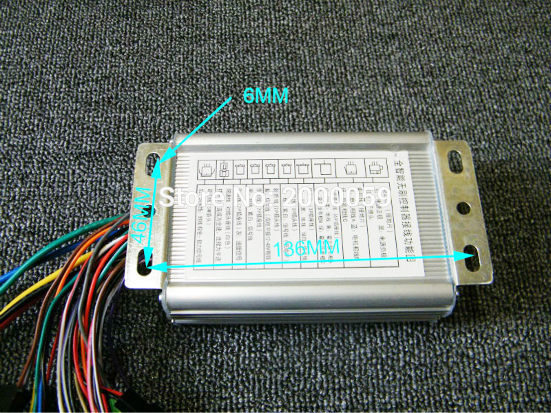 Electric Vehicle Parts Atv,rv,boat & Other Vehicle Brushless Controller 48v450w Electric Scooter E-bike 23a With Hall Sensor Speed Shift Reverse Burgurlar Alarm
