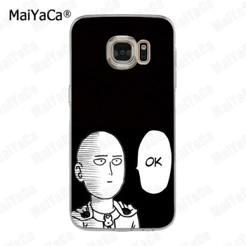 MaiYaCa One Punch Man Coque Shell Phone Case  for Samsung S5 S6 S7 Edge S8 Plus S6 Edge Plus S9 S9Plus 1
