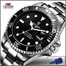 2019 Tevise Top Brand Men Mechanical Watch Automatic Date Fa