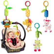 Милые Висит Спираль Активности Коляска Коляска Автокресло Детская Кроватка Baby play Travel Toys Погремушки