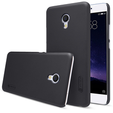 Для Meizu MX6 задняя крышка матовая основа с Экран Плёнка для Meizu MX6 телефон для Meizu MX 6 для Meizu MX6 чехол Nillkin 5.5 дюймов