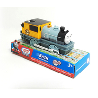 T0165 Electric Thomas And Friend Bash Trackmaster Engine Motorized Train Chinldren Child Kids Plastic Toys Gift