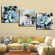 HD Prints Canvas Pictures Modern Wall Art 3 Pieces Chinese Paintings Poster for Bedroom Home Decor Framework