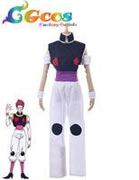 CGCOS Free Shipping Cosplay Costume Hunter X Hunter Hisoka Uniform New in Stock Halloween Christmas Party