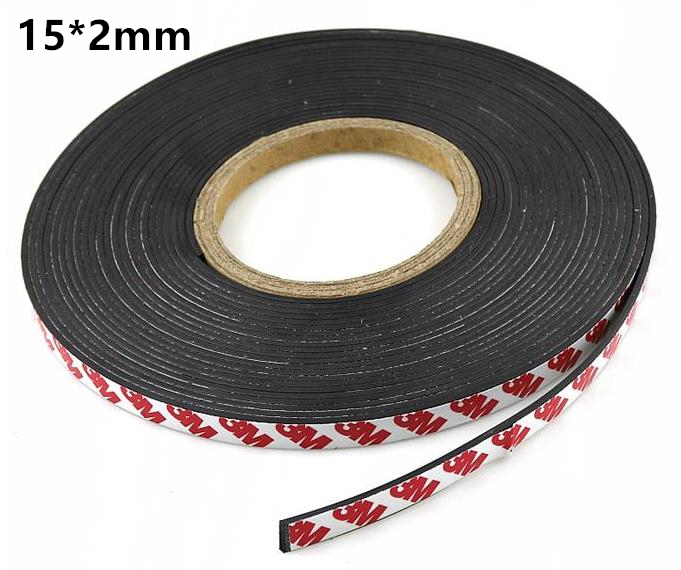 10 Meter/ A reel of width 12mm thickness 2mm Flexible Rubber Magnet 12*2 mm Magnetic Strip Rubber Magnet Tape 5pcs magnet sheet a4 thickness 1mm rubber magnetic strip tape flexible magnet diy craft tape