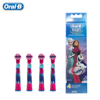 Frozen Replacement Kids Children Tooth Brush Heads For Oral B EB10 4 Electric Toothbrush Oral Care Brush Head 4 pcs