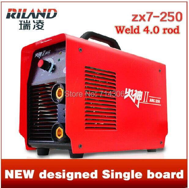 Riland Zx7 250 soudage de cuivre noyau portable onduleur DC machine à souder peut souder 4.0 tige électronique AC 220 V