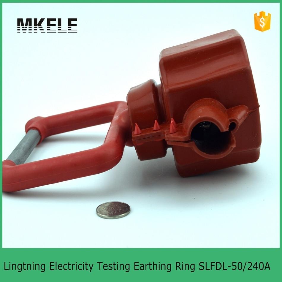 10KV Insulation Piercing Grounding SLFDL Type Lightning