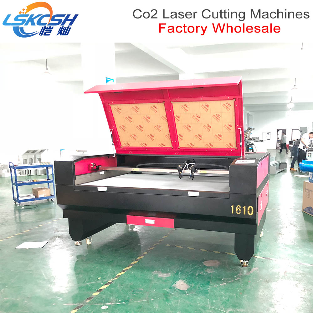 LSKCSH High speed 80W Co2 1390 CNC Laser Cutting machine price for Wood Acrylic Hobby Laser Cutting Shanghai City Factory