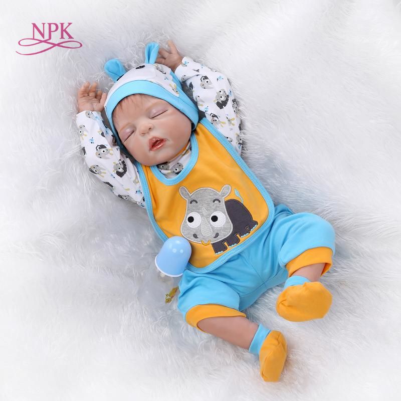 NPK real touch baby dolls full vinyl sleep dolls Christmas gift NEW design hotsale lifelike