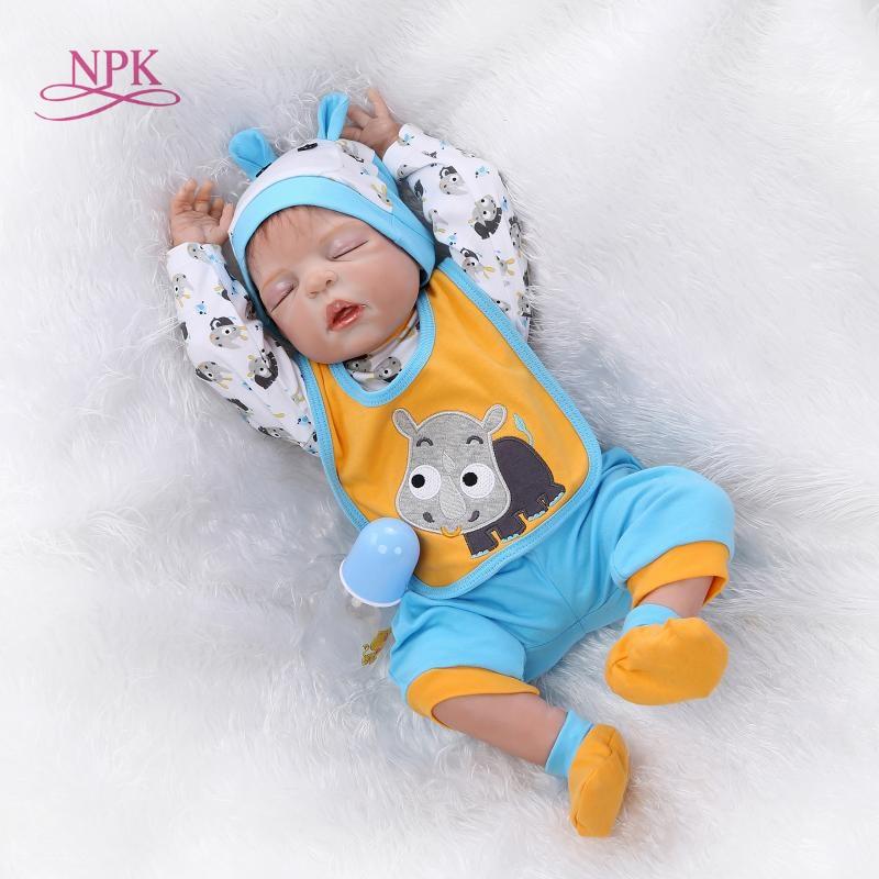 NPK real touch baby dolls full vinyl sleep dolls Christmas gift NEW design hotsale lifelike