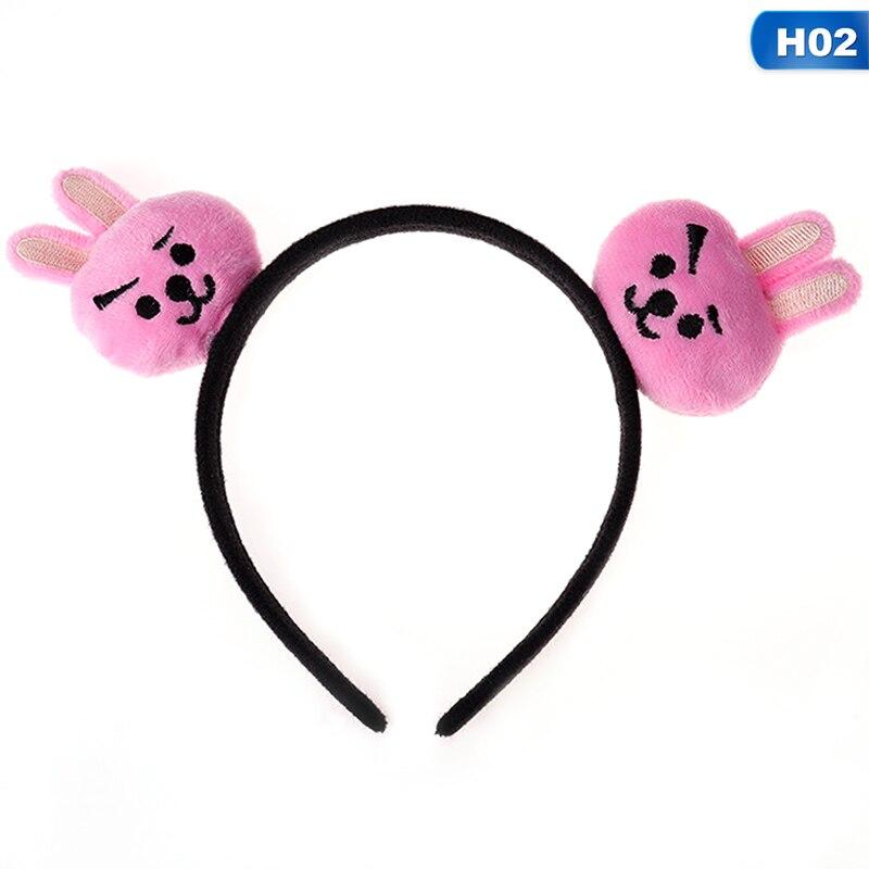 Home New Kpop Bts Bangtan Boys Headband Doll With Hair Tie Hair Rope Headband 2018